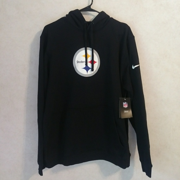 1e73d55ccc166 Nike NFL Steelers Black Hoodie Pullover XL